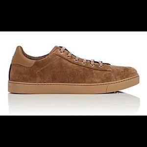 Gianvito Rossi Men's Suede Sneakers Size 42/9